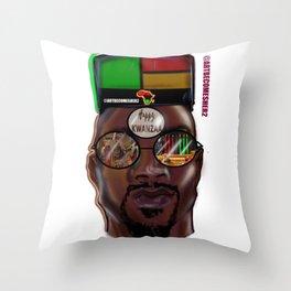 Kwanzaa King Throw Pillow