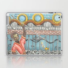 At the Palace of the Dragon King Laptop & iPad Skin