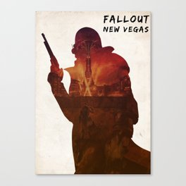 Fallout New Vegas - Ranger on The Strip Canvas Print
