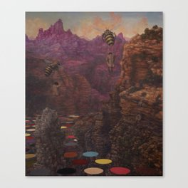 last canyon Canvas Print