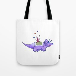 Trick-ceratops! Tote Bag
