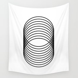 Grid 03 Wall Tapestry
