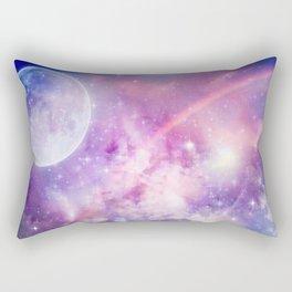 Pastel Celestial Skies Rectangular Pillow