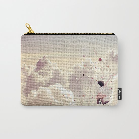 JUMPING IN FLUFFY R' Carry-All Pouch