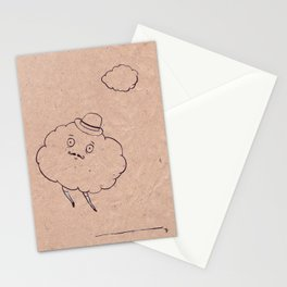 going home after work Stationery Cards