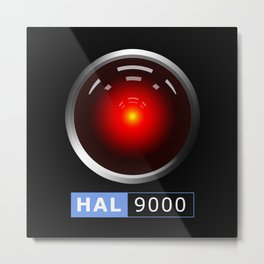 HAL 9000 Metal Print