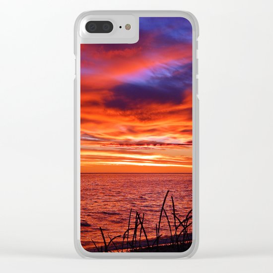 The Mighty Saint-Lawrence at Dawn Clear iPhone Case
