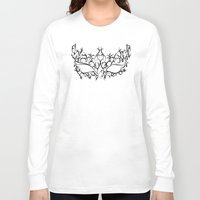 mask Long Sleeve T-shirts featuring Mask by Jessica Slater Design & Illustration