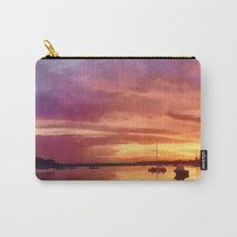 Bembridge Harbour, Isle of Wight Carry-All Pouch