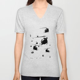 THE HELICOPTERS Unisex V-Neck