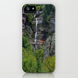 WaterFall in Telluride iPhone Case
