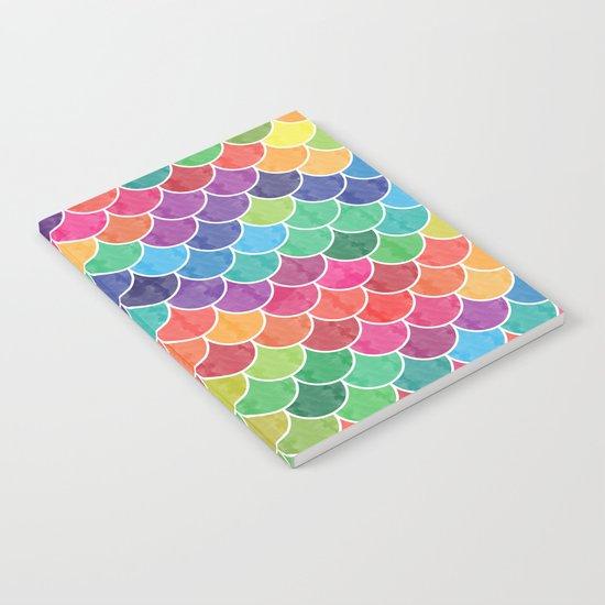 Watercolor Lovely Pattern VVXVI Notebook