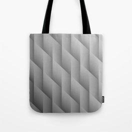 Gradient Gray Diamonds Geometric Shapes Tote Bag