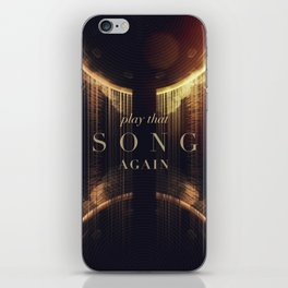 Play That Song Again iPhone Skin