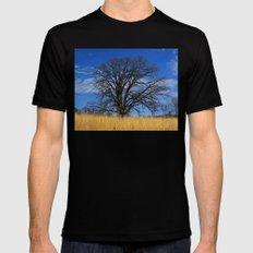 Prairie savanna oak Mens Fitted Tee Black X-LARGE