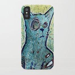 Kuro the Zombie Cat iPhone Case