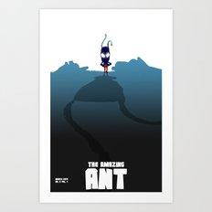 The Amazing Ant #2 Art Print