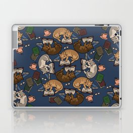 Book Cats Laptop & iPad Skin