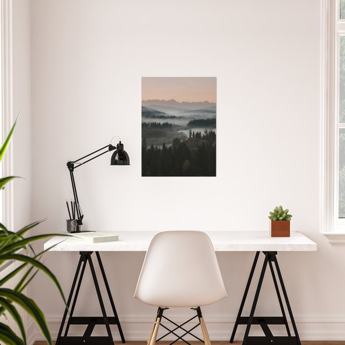 Good Morning! - Landscape and Nature Photography Poster