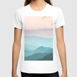 Smoky Mountain National Park Sunset Layers II - Nature Photography T-shirt