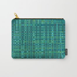 Hipster Plaid Carry-All Pouch