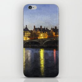 Westminster At Night Art iPhone Skin
