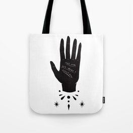 Palmistry Tote Bag