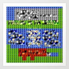> NES V1 Art Print