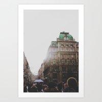 vienna Art Prints featuring Vienna  by Karen