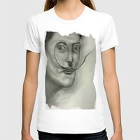 salvador dali T-shirts featuring Salvador Dali by Jennifer Lynn