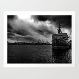 Before the Hurricane Art Print