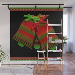 Christmas Bells Wall Mural