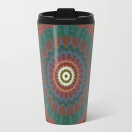 Basal Color Mandala 12 Travel Mug