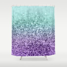 Mermaid Girls Glitter #9 #shiny #decor #art #society6 Shower Curtain