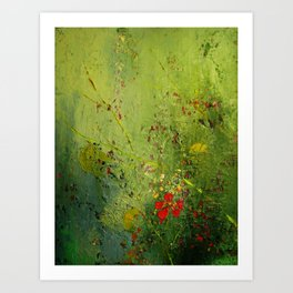 Summer's Last Flower Art Print