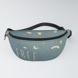 typography Fanny Pack