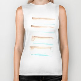 170603 Watercolour Colour Study 12  |Modern Watercolor Art | Abstract Watercolors Biker Tank