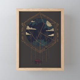 The Dark Woods Framed Mini Art Print