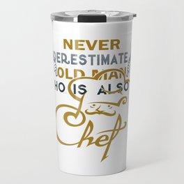 Old Man - A Chef Travel Mug