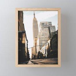 Empire State Building 4 Framed Mini Art Print