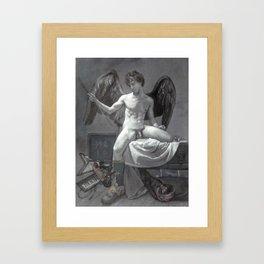 Cupid 2.0 Framed Art Print