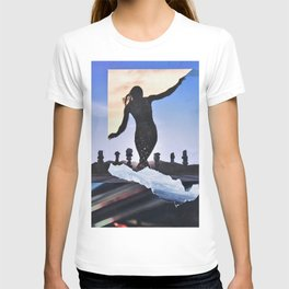 Surf's Up silloute T-shirt