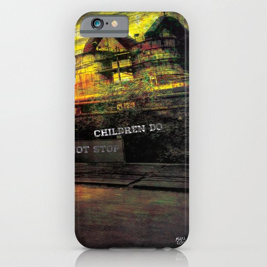 children do not stop iPhone & iPod Case