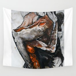 Surreal lovers Wall Tapestry