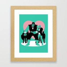 Equality Assemble Framed Art Print