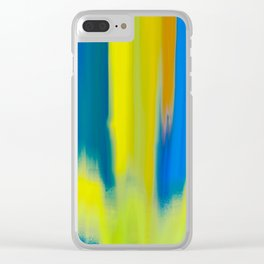 Strong Colors Rising Clear iPhone Case