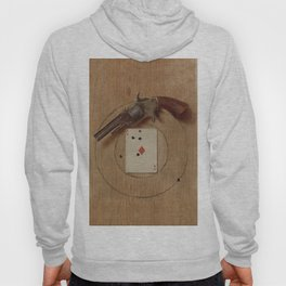 Pistol and Ace by De Scott Evans Hoody