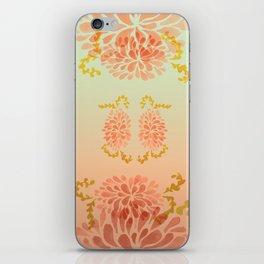 blooming peach iPhone Skin
