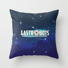 GastroBots Logo Throw Pillow