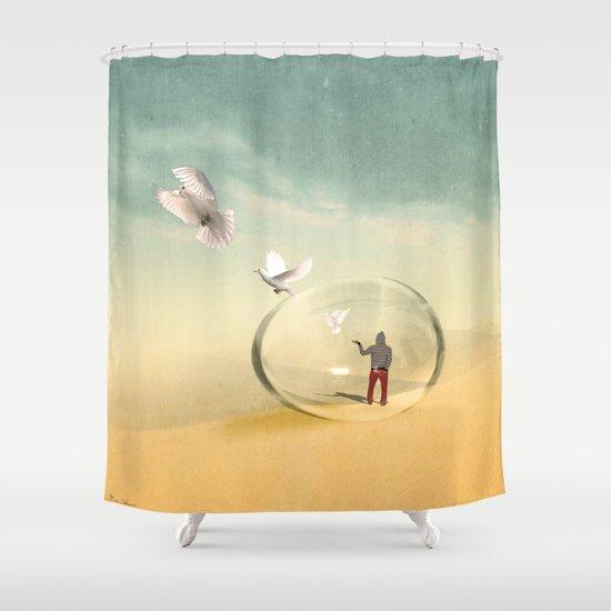 magical Shower Curtain